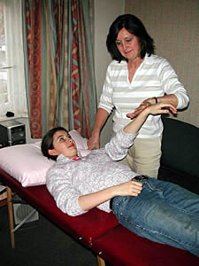 Kinesiology muscle test